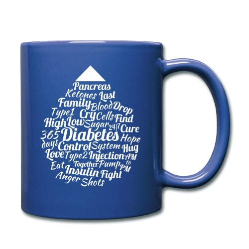 CURE DIABETES - Full Colour Mug