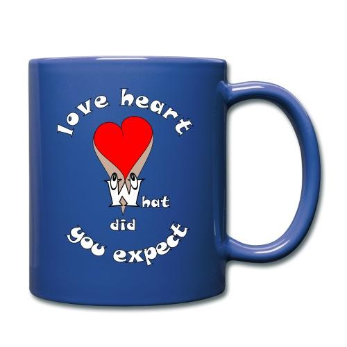 Tee shirt cœur sexy humour quoi d'autres - Mug uni