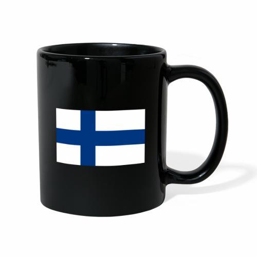 Suomenlippu - tuoteperhe - Yksivärinen muki