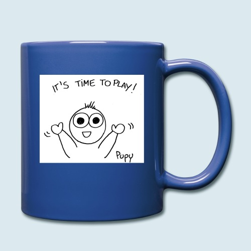 Pupy: time to play! - boy - Tazza monocolore