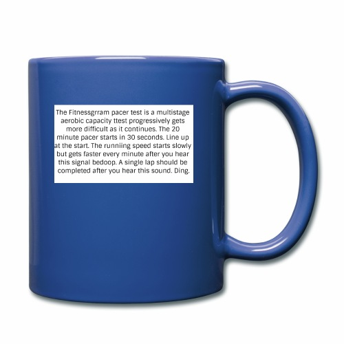 FitnessGram pacer Test - Full Colour Mug