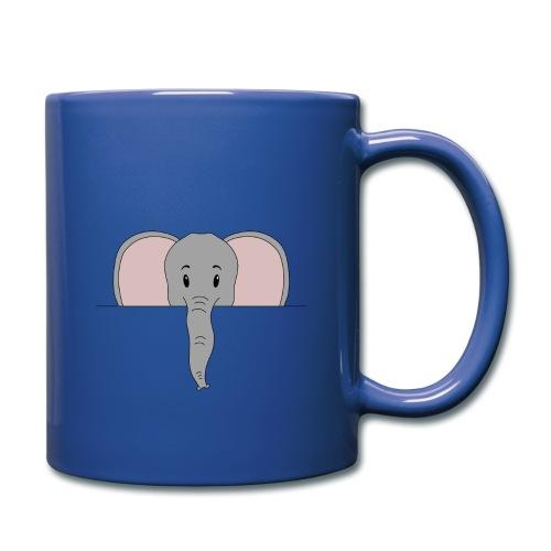 Elefant Marvin - Tasse einfarbig