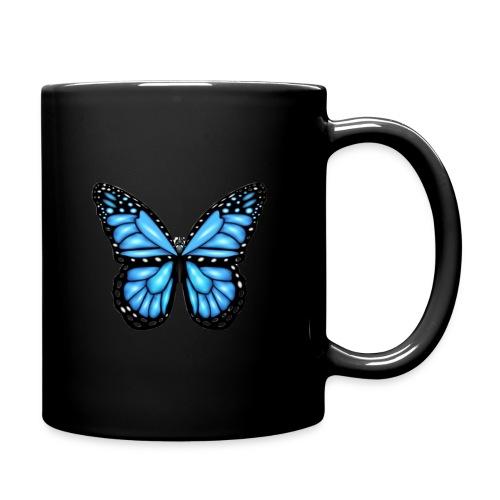 Vlinder T-shirt - Butterfly - Mok uni