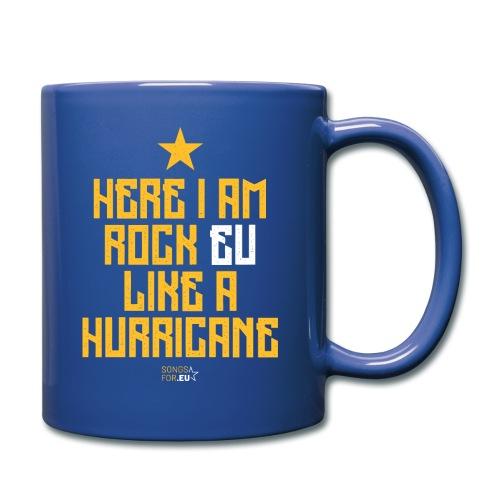 Rock EU like a Hurricane   SongsFor.EU - Full Colour Mug