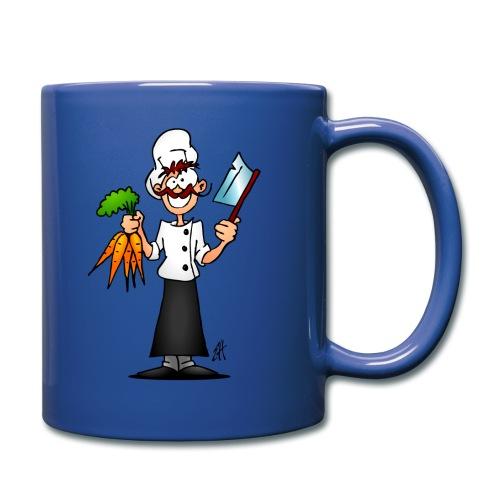 The vegetarian chef - Full Colour Mug