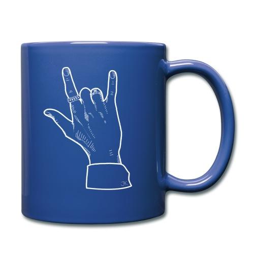 Hand JK BoyWithLuv - Full Colour Mug