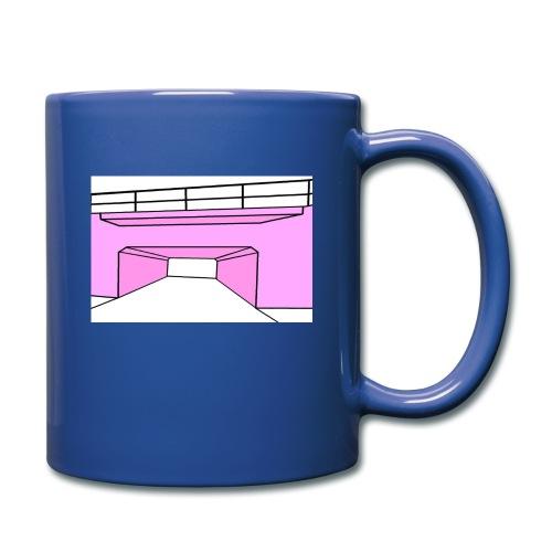 Pink Tunnel - Enfärgad mugg