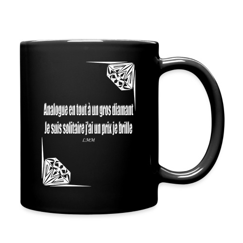 Solitaire white png - Mug uni