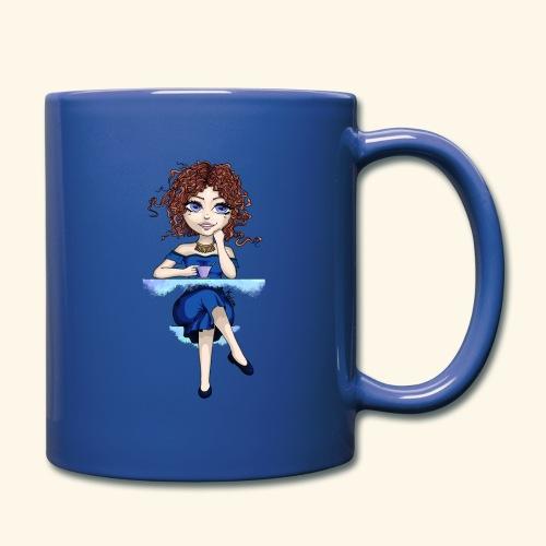 Blue Lady - Mug uni