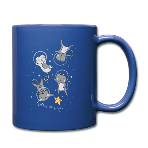 Cats In Space - Full Colour Mug