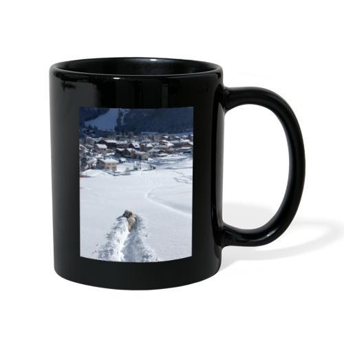 Momo dans la poudreuse - Mug uni