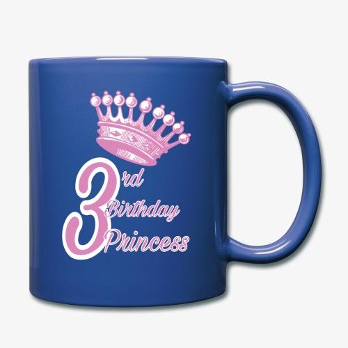 3rd Birthday Princess - Tazza monocolore