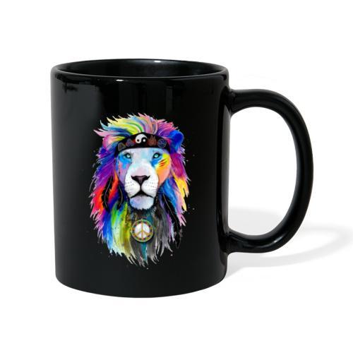 León hippie - Taza de un color