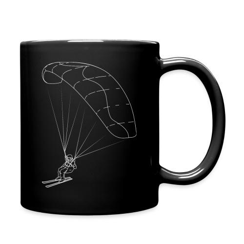 Speedriding Speedflying fine line sketch - Tasse einfarbig