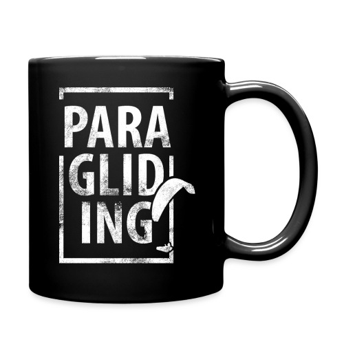 Paragliding Gleitschirmfliegen Paragleiten - Tasse einfarbig
