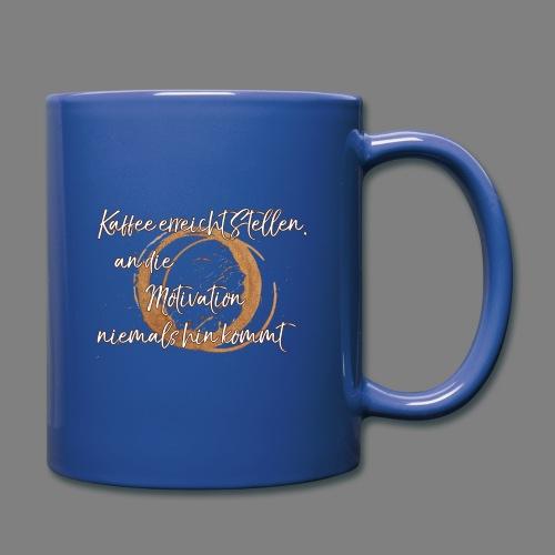 Kaffee - Tasse einfarbig
