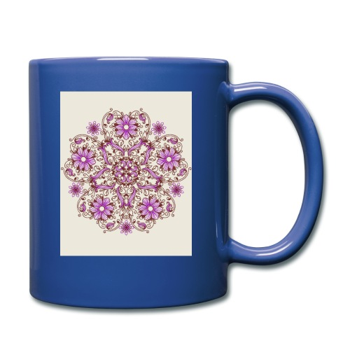 Schönes Muster - Tasse einfarbig