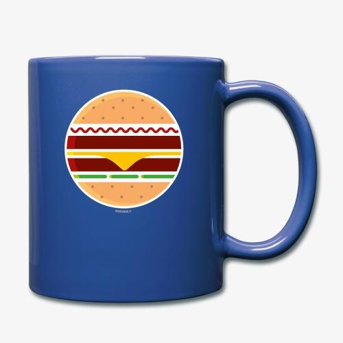Circle Burger - Tazza monocolore