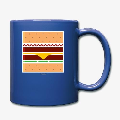 Square Burger - Tazza monocolore