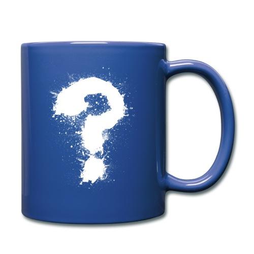 Fragezeichen - Tasse einfarbig