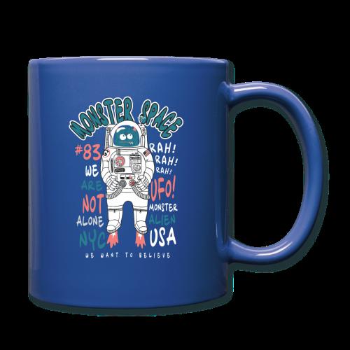 Little Monster In Space 80s Retro - Full Colour Mug