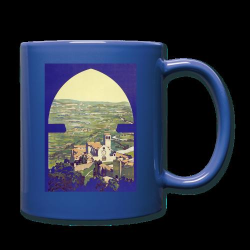 Tuscany vintage travel poster - Full Colour Mug
