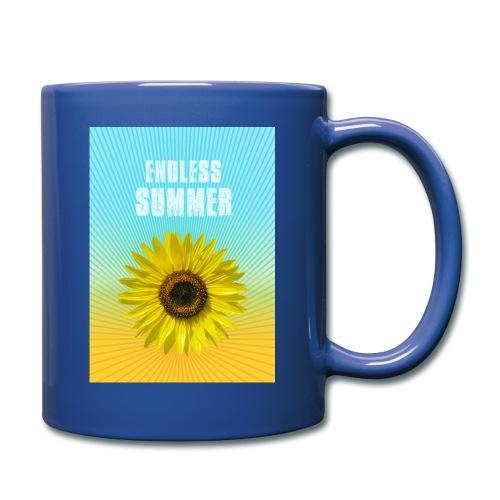 sunflower endless summer Sonnenblume Sommer - Full Colour Mug