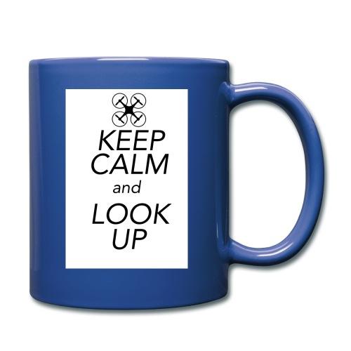 Keep Calm and Look Up - Mok uni