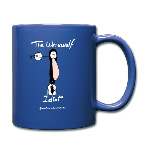 The Werewolf Idiot - Taza de un color