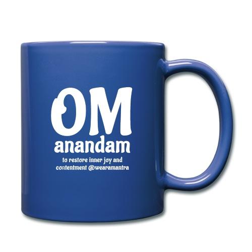 Om Anandam 2 white - Tazza monocolore
