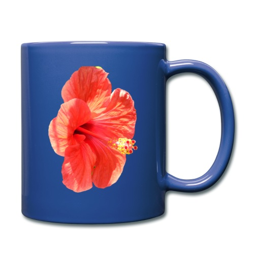 A red flower - Full Colour Mug