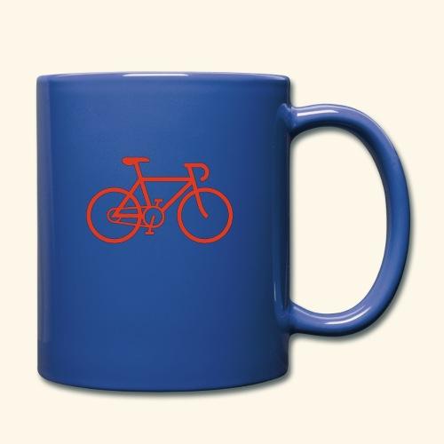 Rennrad, Race-Bike, Fahrrad - Tasse einfarbig