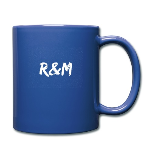 R&M Large Logo tshirt black - Full Colour Mug