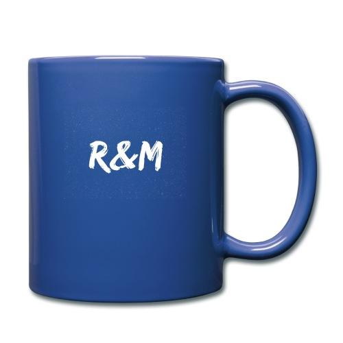 R&M Large Logo tshirt black - Full Colour Mug