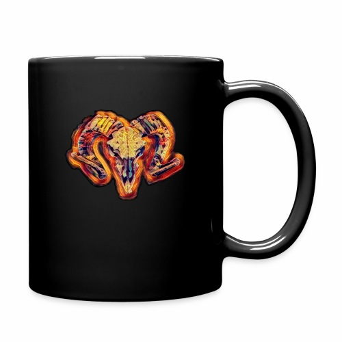 bull on fire medio - Taza de un color