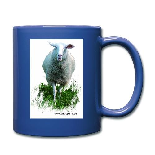 Gemaltes Entrup Schaf - Tasse einfarbig