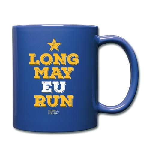 Long may EU run   SongsFor.EU - Full Colour Mug