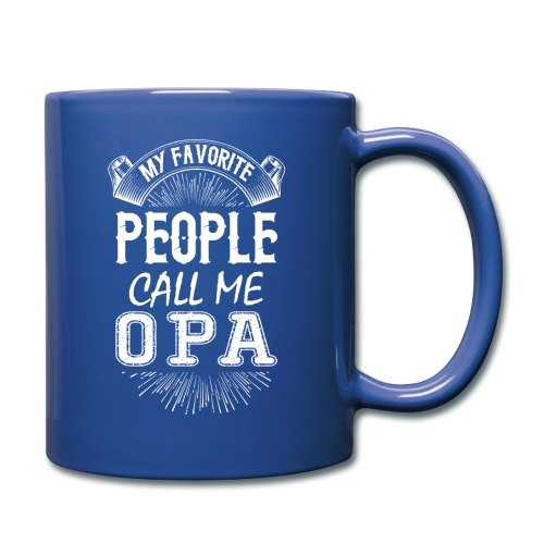 My Favorite People Call Me Opa - Full Colour Mug