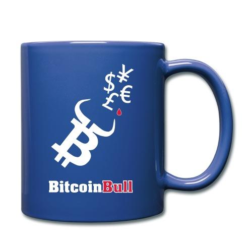 BitcoinBull - Taza de un color