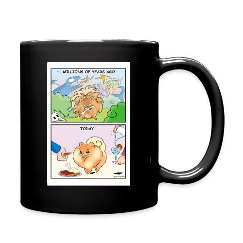 Pomeranian History - Tazza monocolore