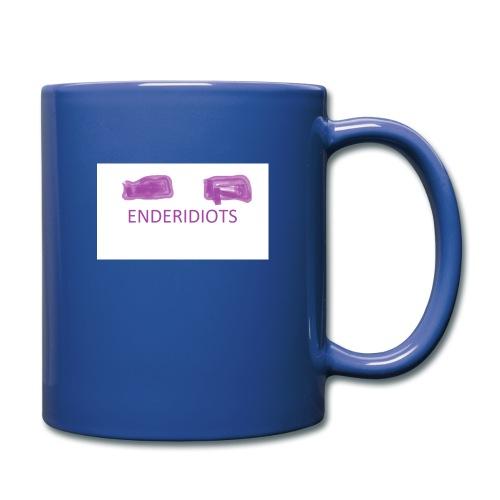 enderproductions enderidiots design - Full Colour Mug