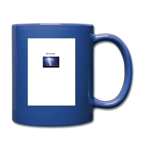 Blitz Einschlag - Tasse einfarbig