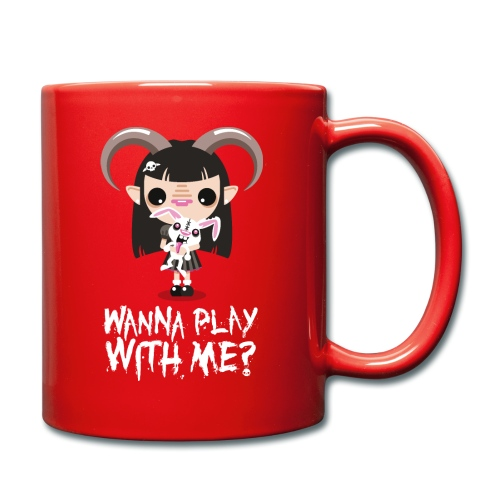 Wanna play with me? - Tazza monocolore