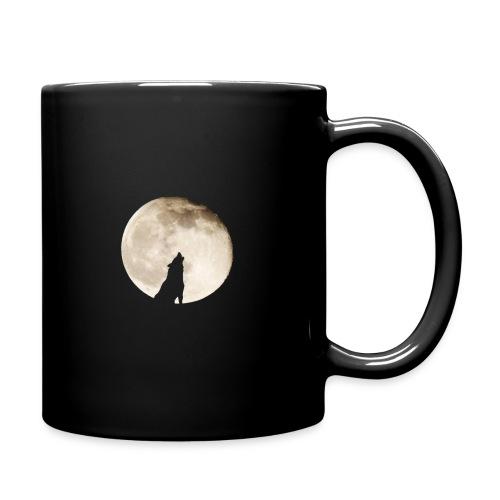 The wolf with the moon - Mug uni