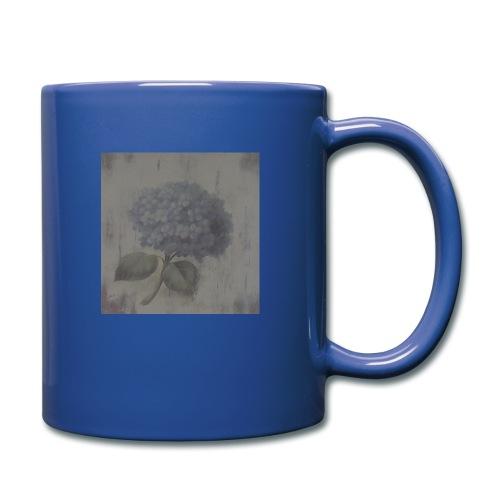 Blue Flower Boquet - Full Colour Mug