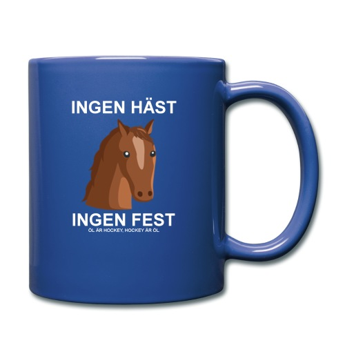 haestfest - Enfärgad mugg