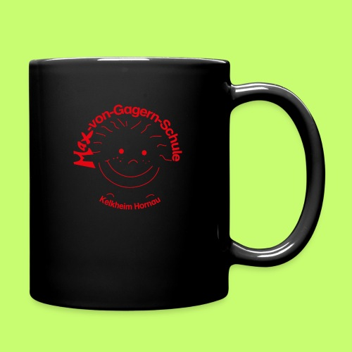 Mäxchen Logo rot - Tasse einfarbig