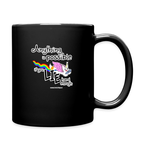 Anything Is Possible if you lie hard enough - Full Colour Mug