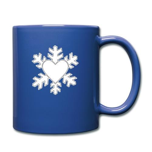 Flocon coeur 3D - Mug uni