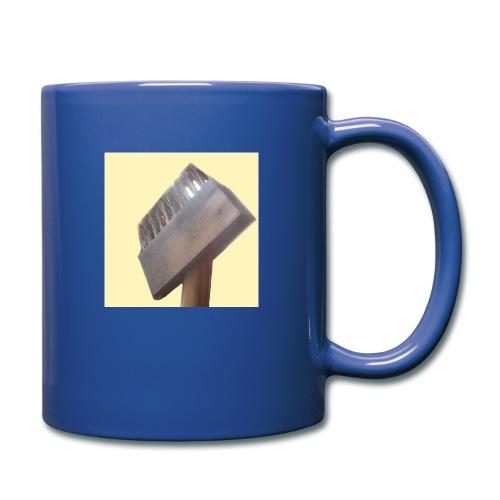 Klausens Unkrautbürste - Tasse einfarbig